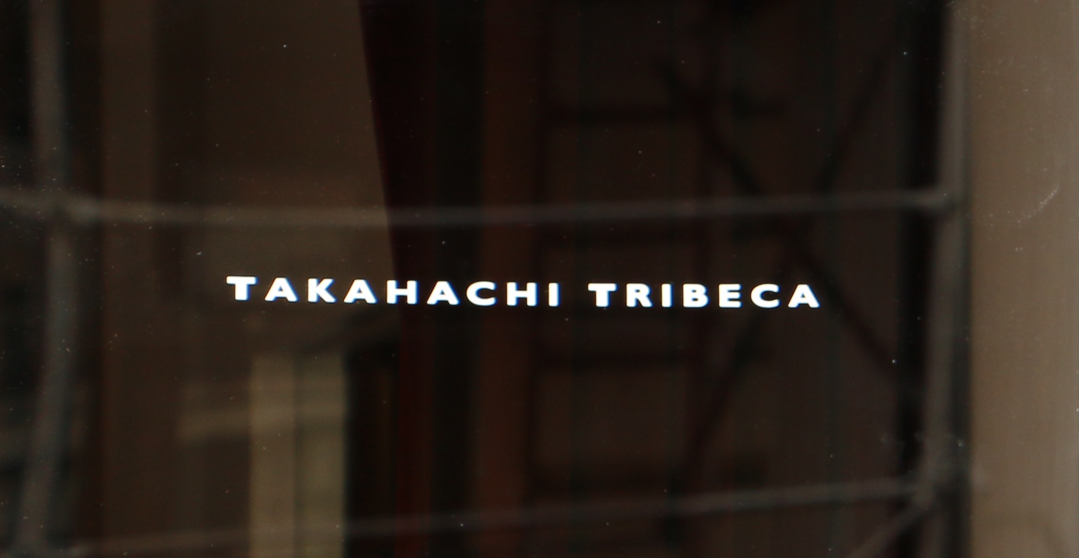 Takahachi Tribeca – Jun 2016